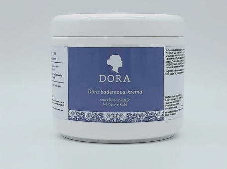 Dora bademova krema 500 g - KOZMETIČKI SALONIPreparati za kozmetičke tretmaneBEAUTY SALON AND SPAProducts for professional treatments cijena, prodaja, Hrvatska
