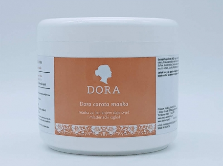 Dora carota maska 500 g - KOZMETIČKI SALONIDora kozmetika za wellness centre i kozmetičke saloneBEAUTY SALON AND SPADora cosmetics for wellness and spa cijena, prodaja, Hrvatska