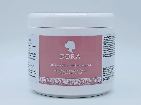 Dora vlažna krema 500 g - KOZMETIČKI SALONIPreparati za kozmetičke tretmaneBEAUTY SALON AND SPAProducts for professional treatments cijena, prodaja, Hrvatska